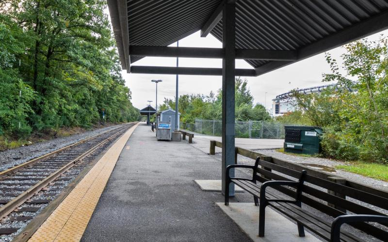 Foxboro Station Commuter Rail
