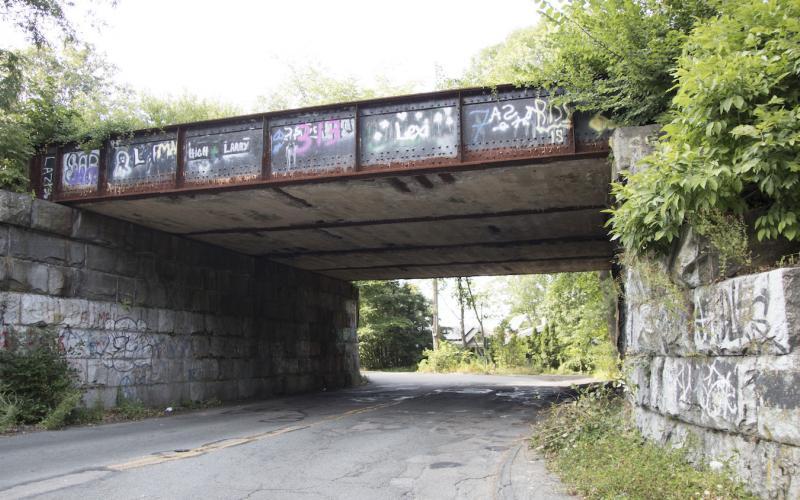 Bacon Street bridge in Wellesley is being completely replaced.