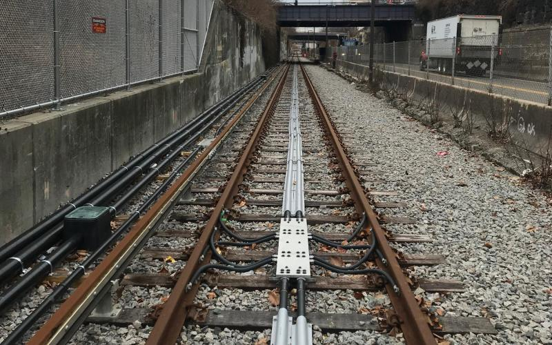 The Red Line test track is now ready to receive new vehicles for testing